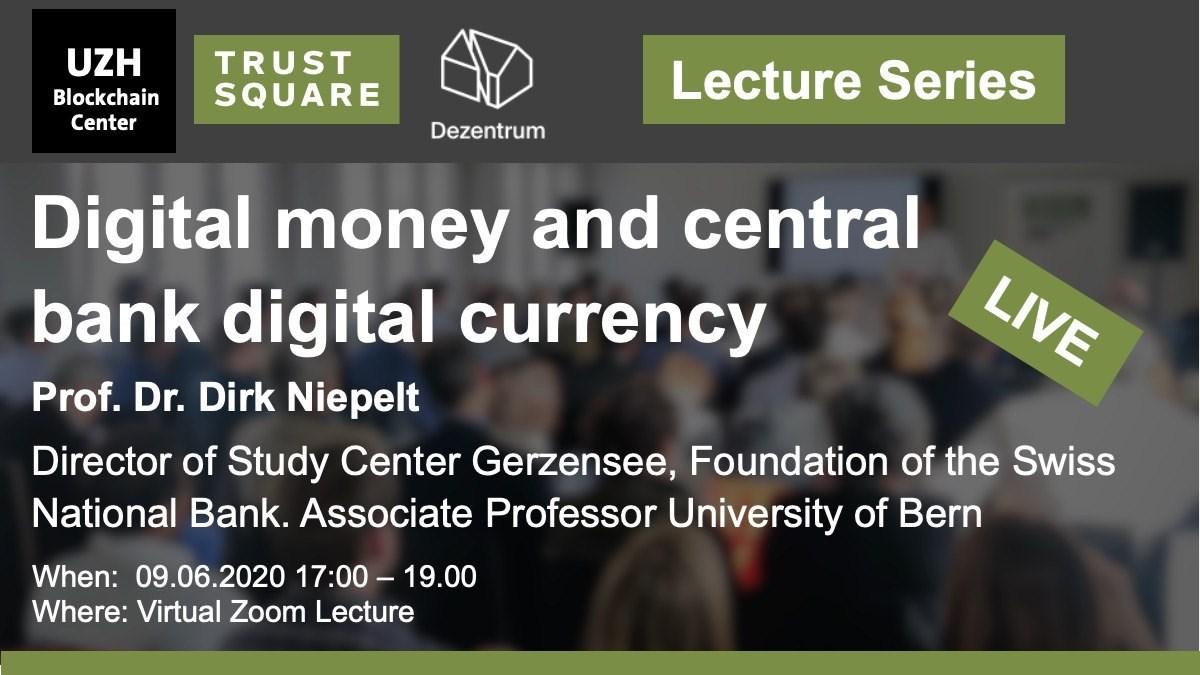 Digital money and central bank digital currency