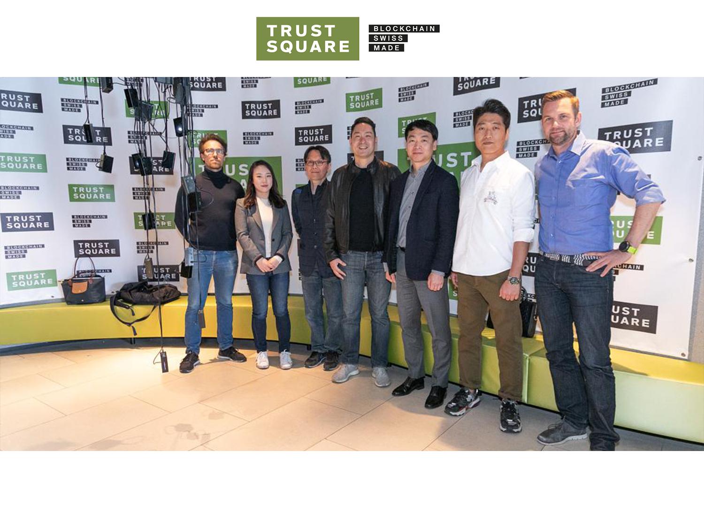 South Korea visiting Trust Square