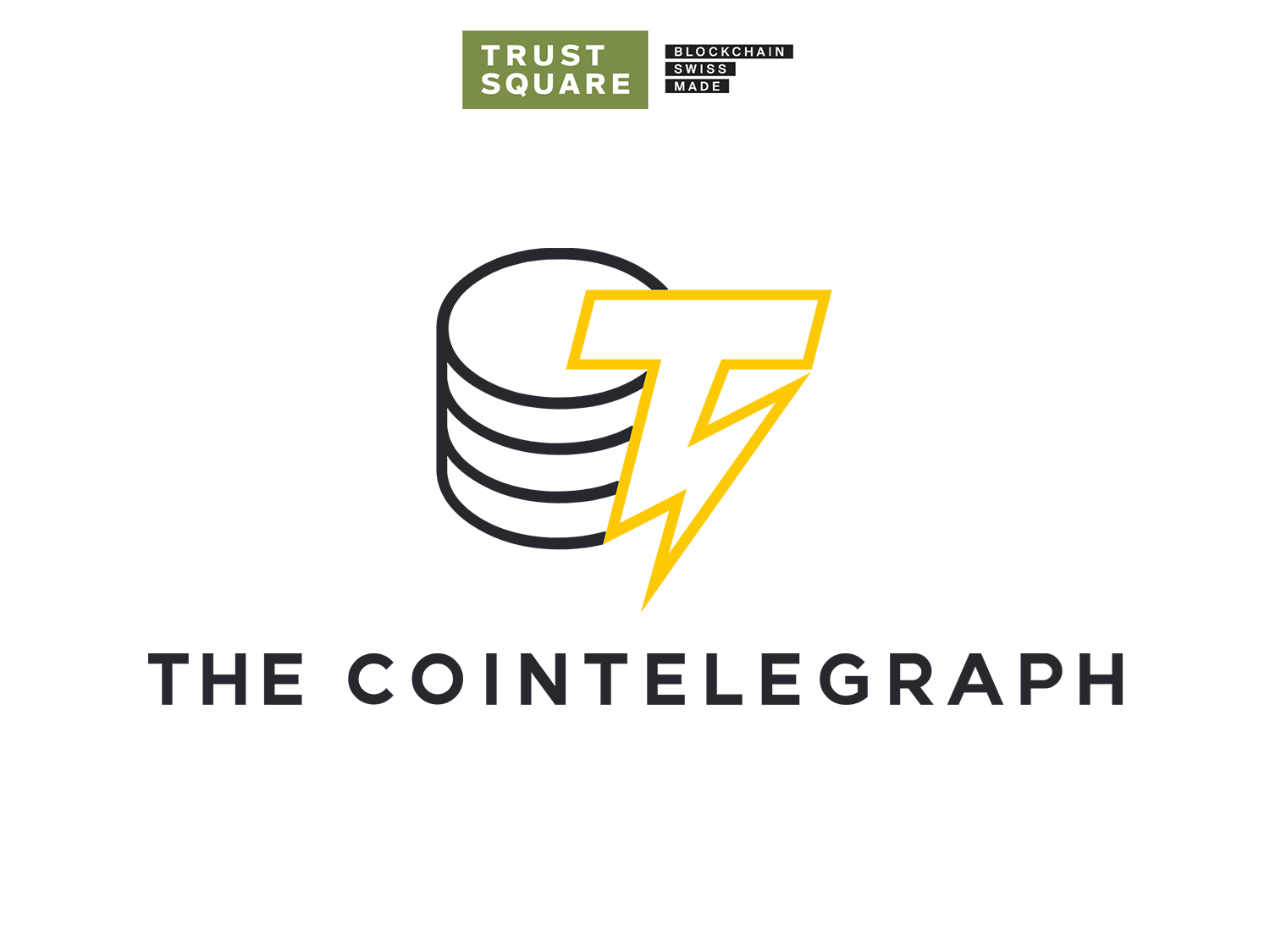 Cointelegraph and Trust Square Logo
