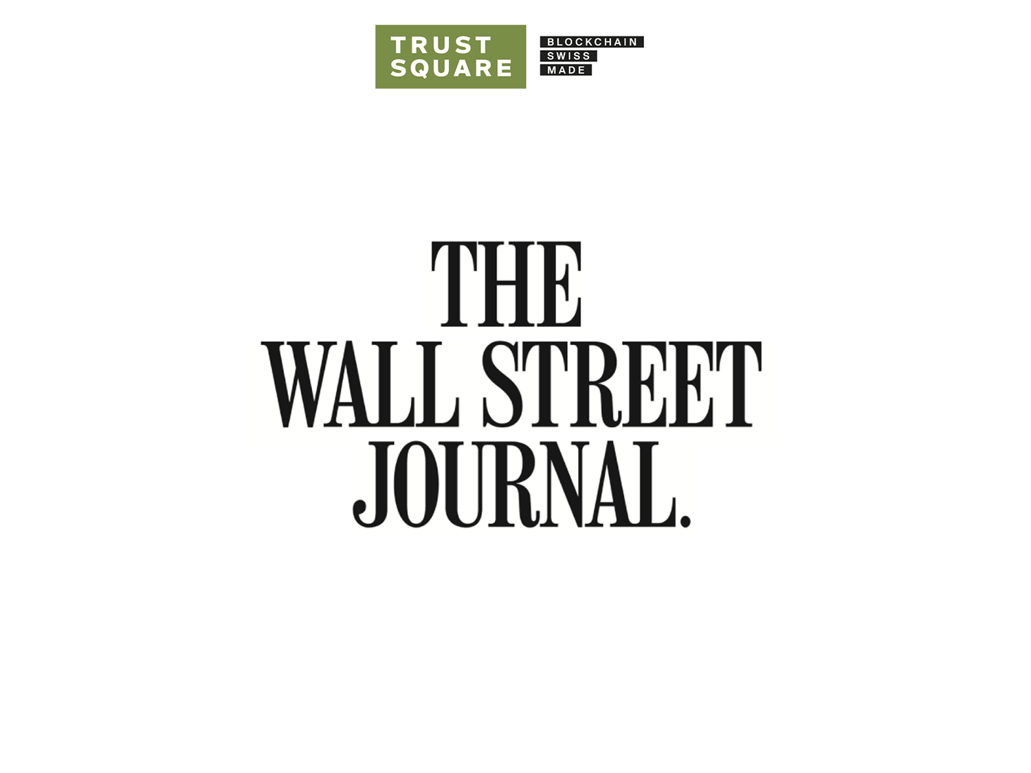 The Wall Street Journal and Trust Square Logo