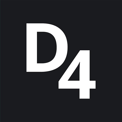d4 design logo