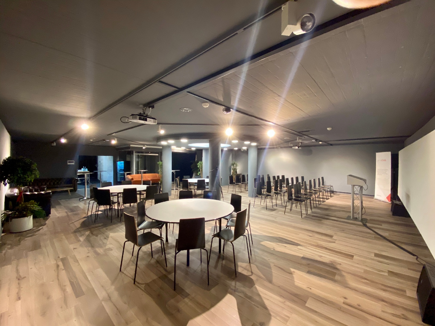 event space 2-1