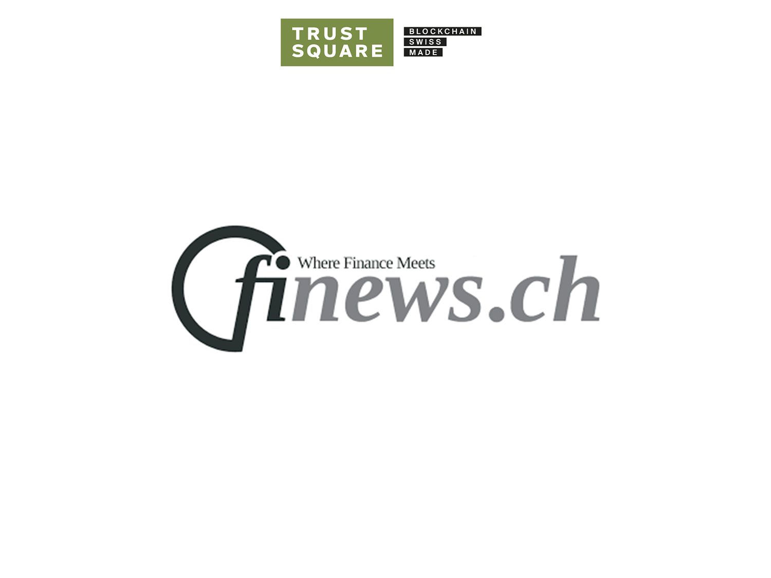 Finews.ch and Trust Square Logo